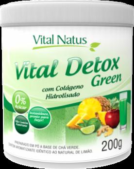 VITAL DETOX GREEN 200g COM COLÁGENO