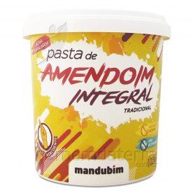 PASTA DE AMENDOIM INTEGRAL TRADICIONAL 450 g MANDUBIM
