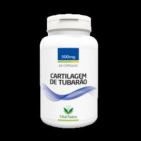CARTILAGEM DE TUBARÃO 500MG 60 CÁPSULAS VITAL NATUS
